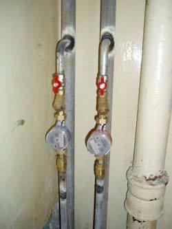 Замена стояков горячей и холодной воды в Краснодаре, монтаж стояков водоснабжения